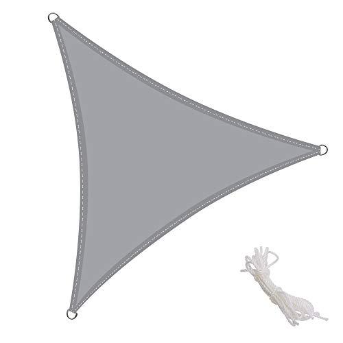 Kingshade 3x3x3m triangular toldo vela de sombra para - Toldos para balcones precios ...